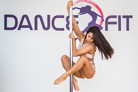 Artistic pole dance